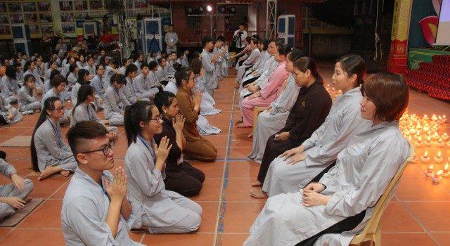Xúc động đêm tri ân cha mẹ - KTMH chùa Từ Xuyên