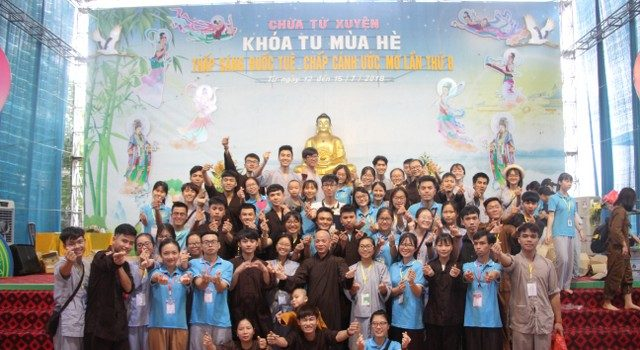 Bế mạc khóa tu mùa hè chùa Từ Xuyên – năm 2018