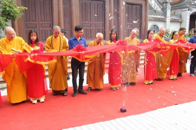 Khánh thành chùa Khánh Sơn sau 4 năm xây dựng