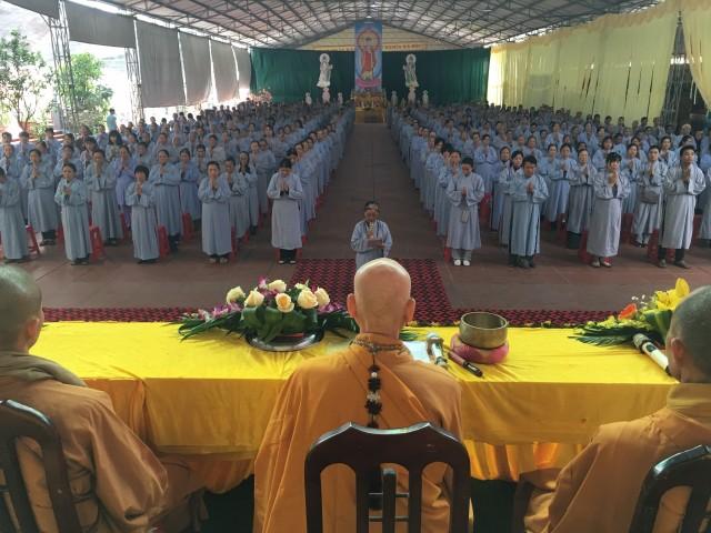 Đại lễ vía Phật A Di Đà tại chùa Từ Xuyên