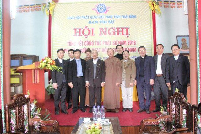 Tòa Giám mục GP Thái Bình thăm và chúc Tết BTS PG tỉnh