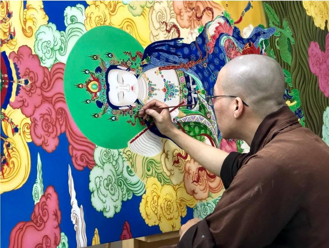Nhóm các hoạ sĩ gồm 07 thành viên là những tăng sĩ và Cư sĩ Phật tử có niềm đam mê, tâm huyết với mỹ thuật hội hoạ.