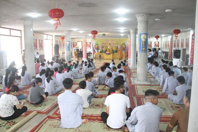 Hưng Yên: Khai mạc khóa tu mùa hè tại chùa Thắng Quang