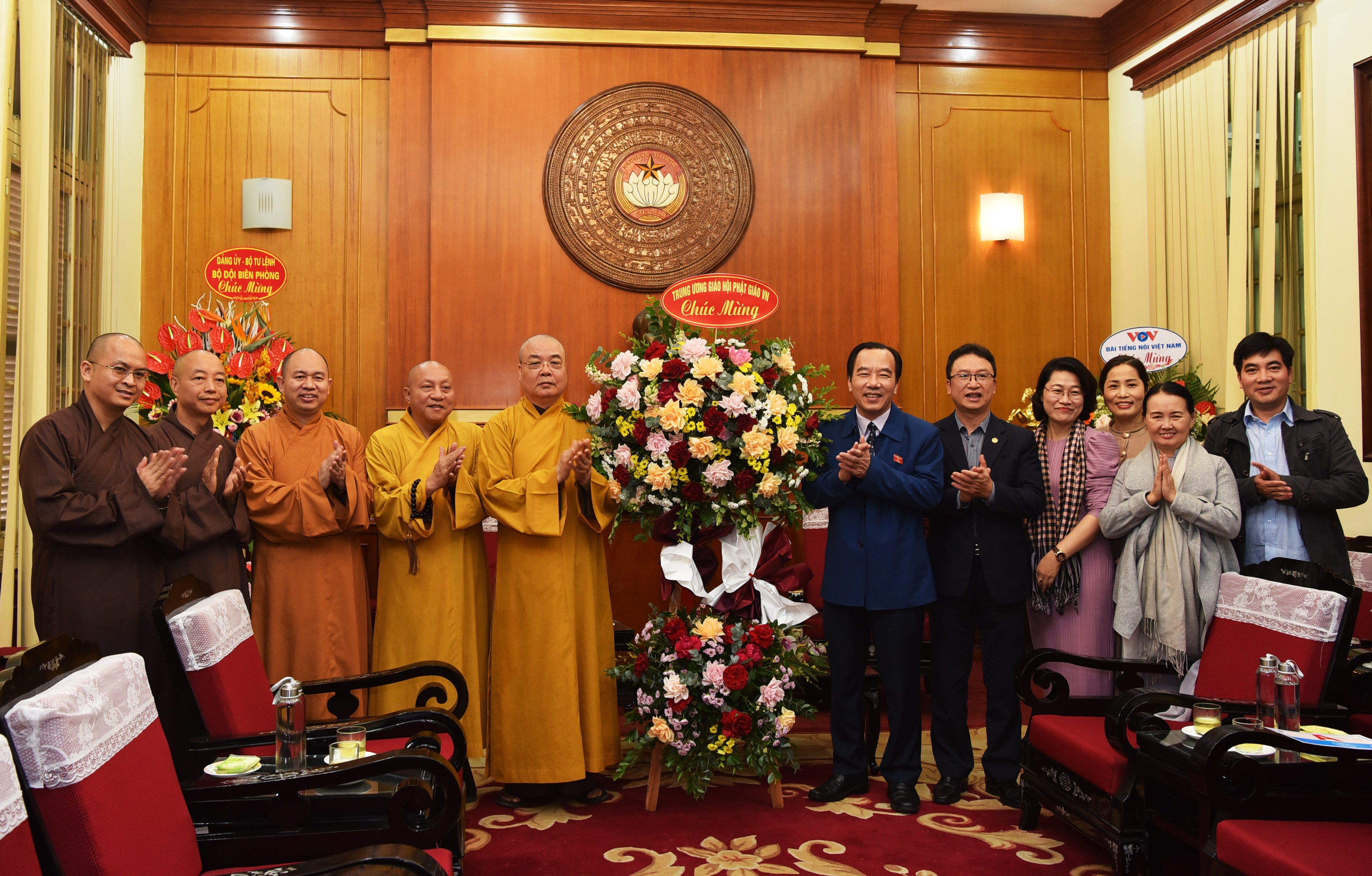 GHPGVN chúc mừng Ủy ban TƯ Mặt trận Tổ quốc Việt Nam nhân kỷ niệm 90 năm Ngày Truyền thống