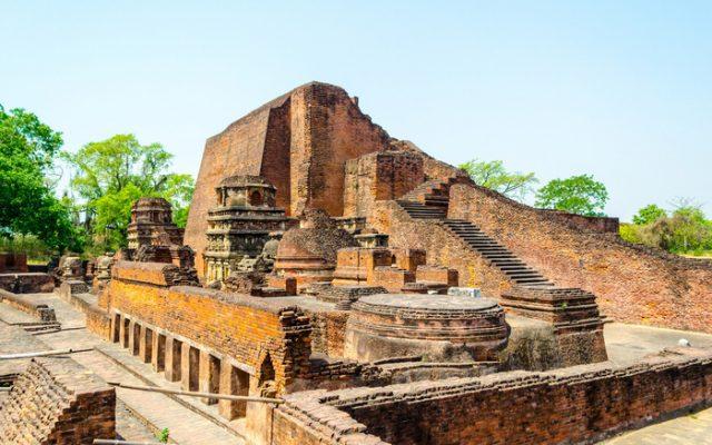 Dấu tích trường Đại học Nalanda cổ đại